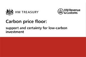 Consultation document on Carbon price floor